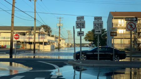 Tidal/Coastal Flooding Predicted 10/11/19 During Cruisin' Weekend in Ocean City