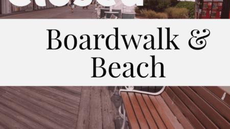 Ocean City Beach & Boardwalk Closed