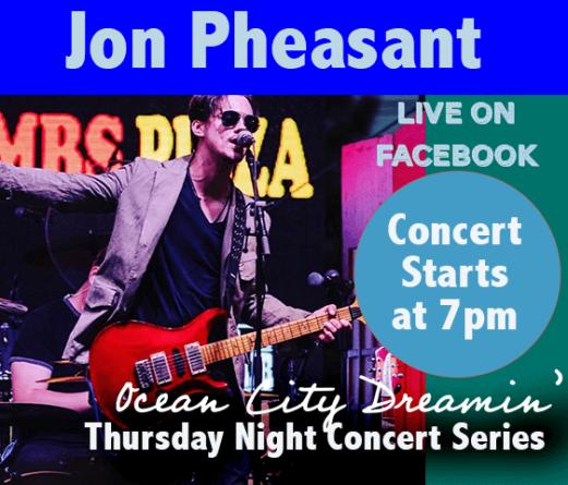 Ocean City Dreaming: Artist Profile- Jon Pheasant