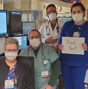 Ocean City Supporting Healthcare Workers