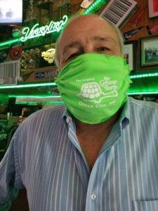 Greene Turtle Face Mask
