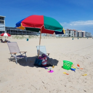The Warm Days of Summer are Here at the Beach