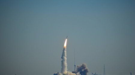 Minotaur Rocket Launched Today from Wallops Island – Visible from Ocean City