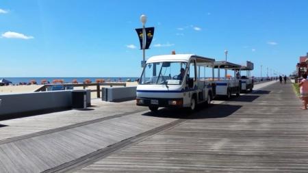 Ocean City Council Votes to Suspend Tram Service for 2020 Season